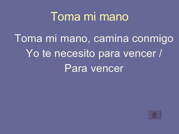 TOMA MI MANO - Belanova - LETRAS.COM