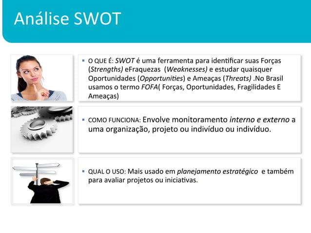 Análise SWOT            § O QUE É: SWOT é uma ferramenta para idenKficar suas Forças           ...