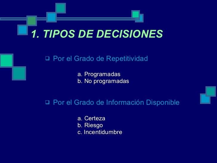 Toma De Decisiones Slide 3