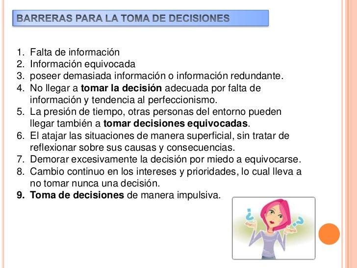Para tomar una decisión, cualquiera que sea su naturaleza, esnecesario conocer, comprender, analizar un problema, para así...