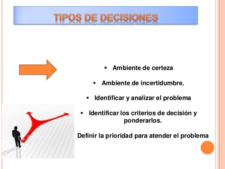   Generar las opciones de soluciónConsiste en desarrollar distintas posibles soluciones al problema. Sibien no resulta po...