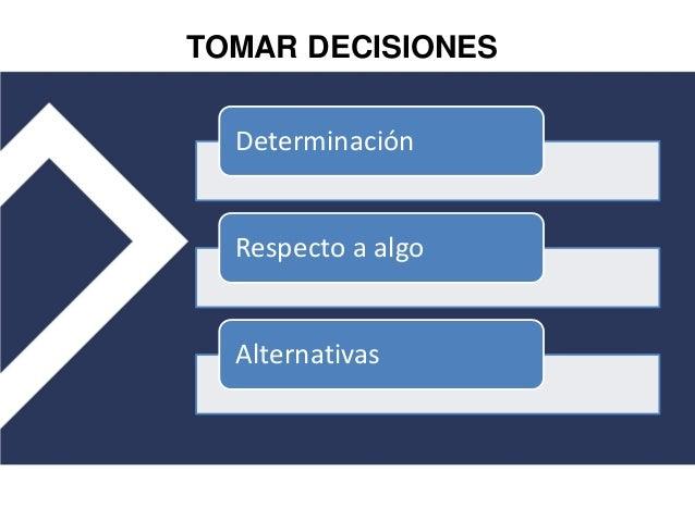 Toma de decisiones en organizaciones educativas Slide 3