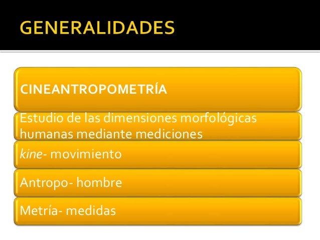 Antropometría. Método ISAK Slide 2
