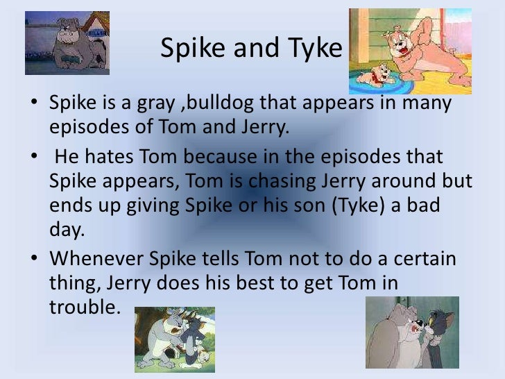 Tom And Jerry!