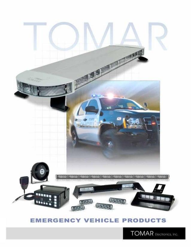 Emergency Equipment Supply Fire Police Visor Split Lightbar Memory Function