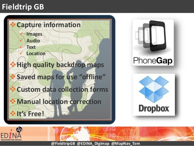 """Capture information  Images  Audio  Text  Location High quality backdrop maps Saved maps for use """"offline"""" Custom ..."""