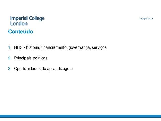 O futuro dos sistemas universais de saúde Slide 2