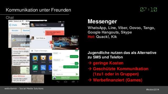Messenger Marketing mit Line, WhatsApp, Snapchat, Vine und ...