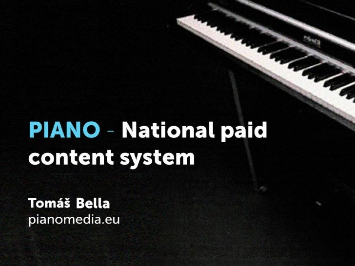 • CEO at PianoMedia.eu (Bratislava, Slovakia)• Teacher of online journalism• Formerly reporter, editor, editor-in-chief  a...