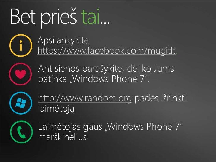 Windows Phone 7 Slide 3