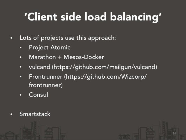 Building a smarter application stack by tomas doran from yelp for Consul load balancing