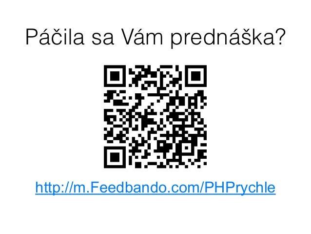 Tomáš Srnka - História, súčastnosť a budúcnosť spracovania PHP... vieme PHP ešte zrýchliť?