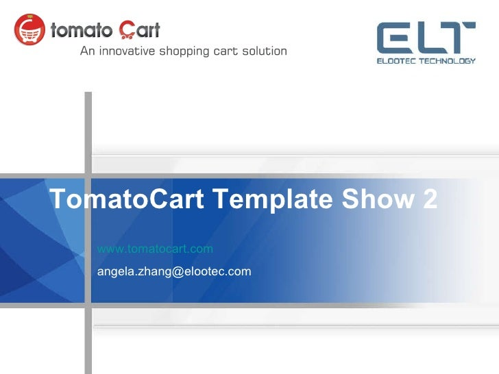TomatoCart Template Show 1