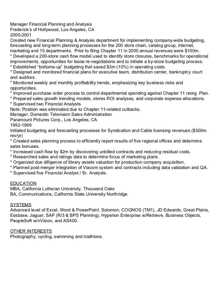tom barette resume