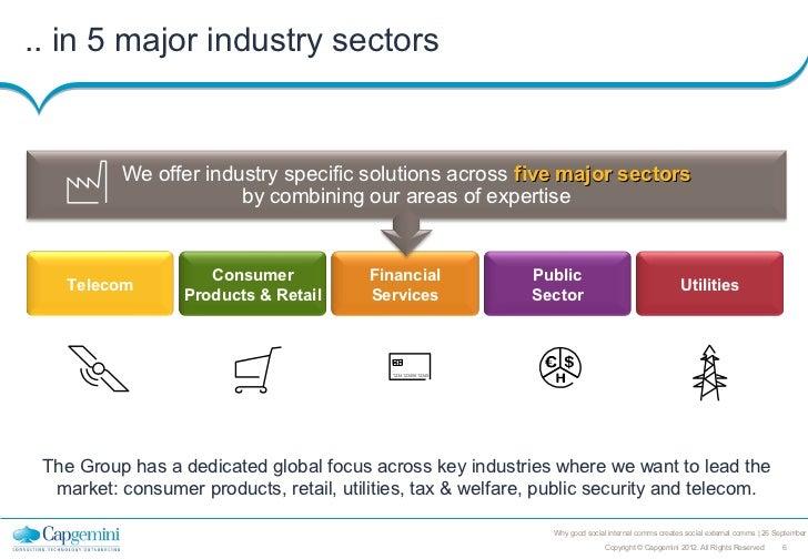 .. in 5 major industry sectors          We offer industry specific solutions across five major sectors                    ...
