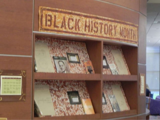 TOM Black History Month