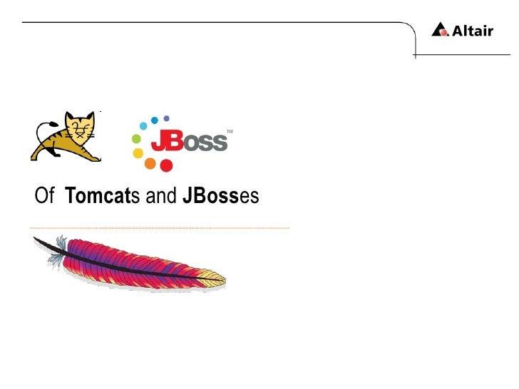 Of  Tomcat s   and  JBoss es