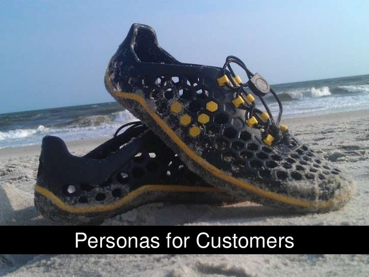 Personas for Customers