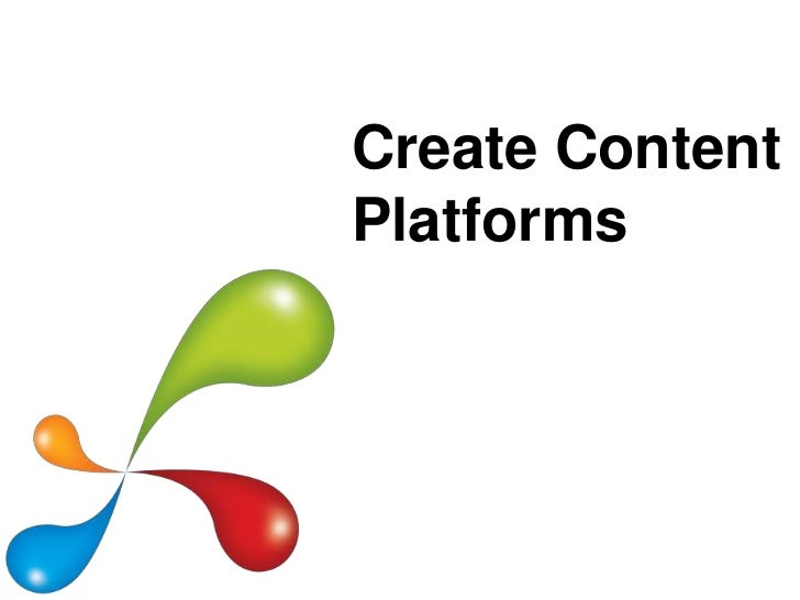 Create ContentPlatforms