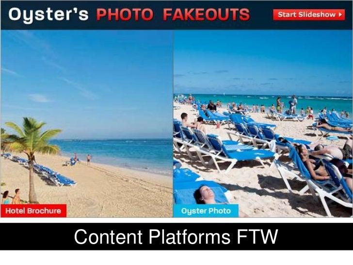 Content Platforms FTW