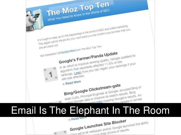 Email Is The Elephant In The Room