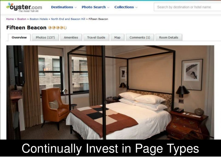Continually Invest in Page Types