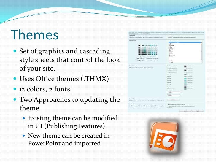 updating fonts and images for powerpoint