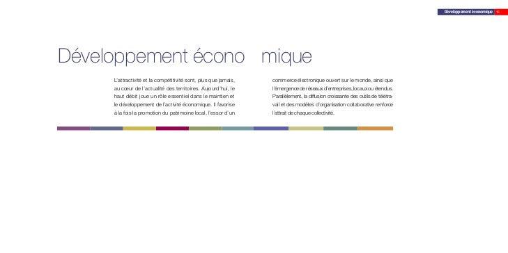 Développement économique 15Développement écono mique     L'attractivité et la compétitivité sont, plus que jamais,   comme...