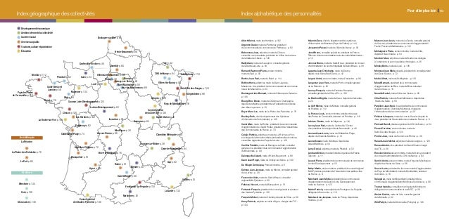Index géographique des collectivités Index alphabétique des personnalités Brive-la-Gaillarde-p.16 Mende-p.20 Loches Dévelo...
