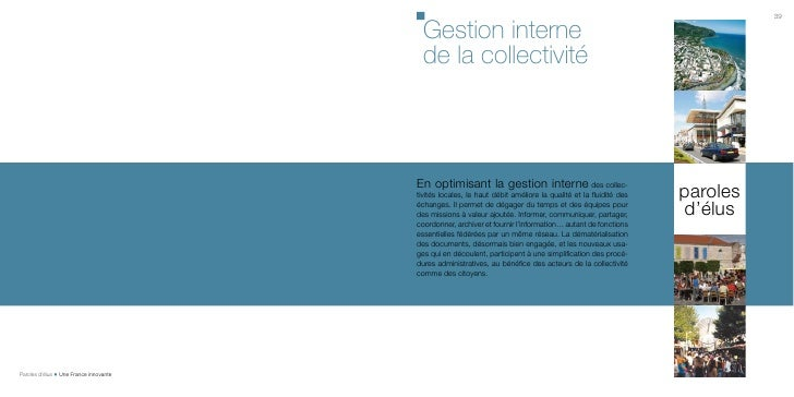 Tome 3 : Gestion interne de la collectivite
