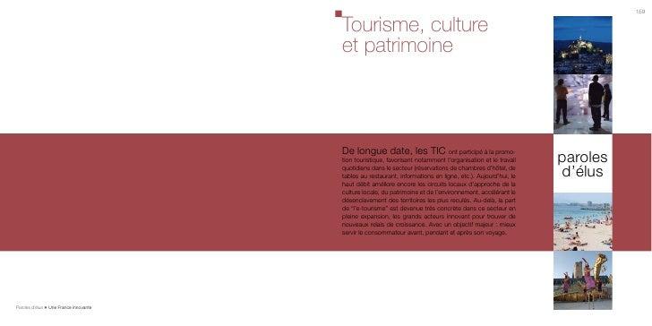 Tome 3 : Tourisme et culture