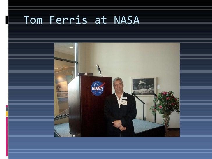 Tom Ferris at NASA