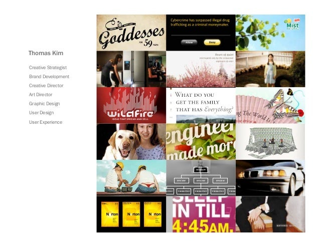 Tom Kim - Print, Online & Graphic Design Portfolio
