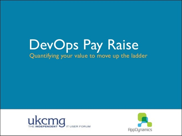 DevOps Pay Raise  Quantifying your value to move up the ladder