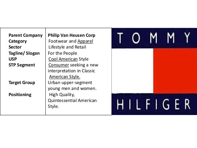 swot analysis of tommy hilfiger A strategic analysis of estee lauder a swot analysis is important as a clear basis is provided to examine the performance of a business tommy hilfiger.