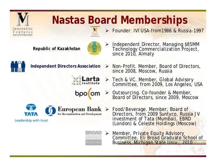 Tom Nastas 2011 2 page summary, english Slide 3