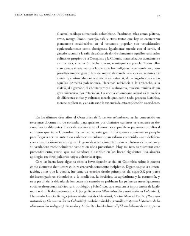 Tomo09 gran libro de la cocina colombiana parte 1 for Libro procesos de cocina