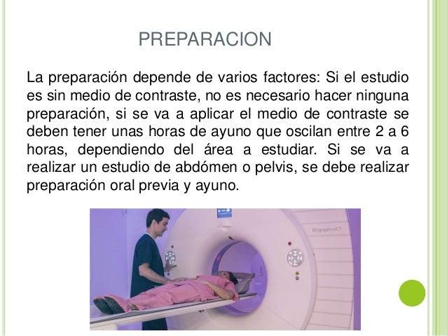 Resultado de imagen para cómo prepararse para una tomografía