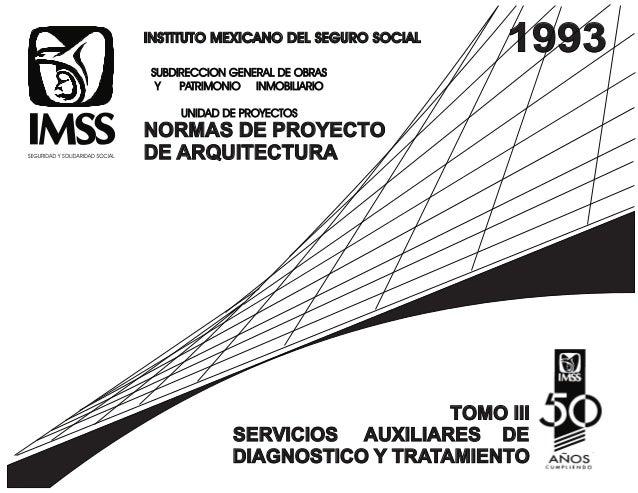 INSTITUTO MEXICANO DEL SEGURO SOCIALINSTITUTO MEXICANO DEL SEGURO SOCIAL SUBDIRECCION GENERAL DE OBRAS Y PATRIMONIO INMOBI...