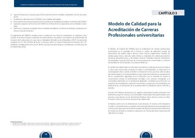 1110 Estándares de Calidad para la Acreditación de las Carreras Profesionales Universitarias de IngenieríaEstándares de Ca...