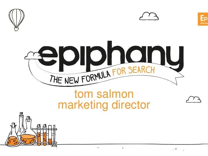 tom salmonmarketing director