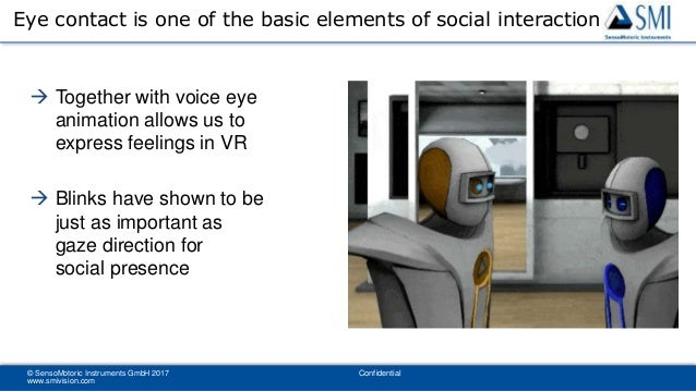 an introduction to the importance of gaze and eye contact in social interaction Social gaze behavior for face to face human-robot interaction hagen lehmann1, frank broz2, reza ahmadzadeh3, alessio del bue 1, lorenzo natale and giorgio metta1 abstract—this short paper discusses the importance of.