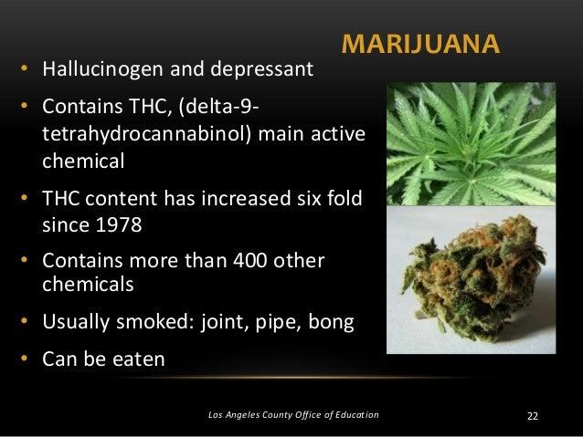 tom steele 122 \u2022 hallucinogen and depressant marijuana