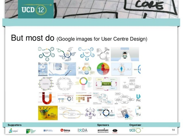 But most do (Google images for User Centre Design)Supporters                       Sponsors    Organiser                  ...