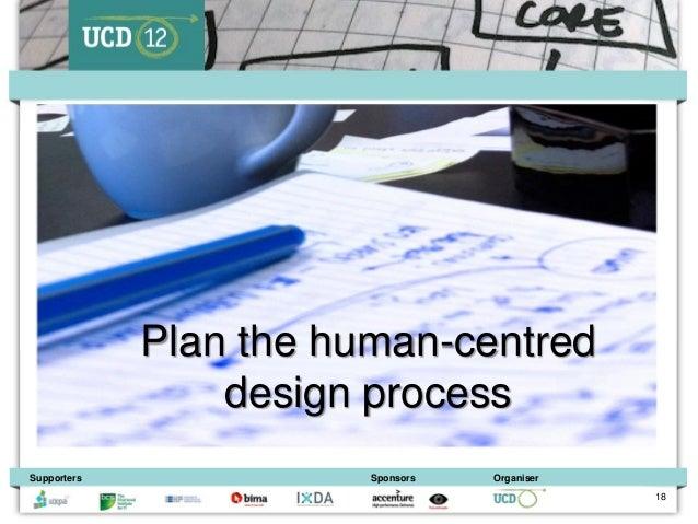 Plan the human-centred                 design processSupporters              Sponsors   Organiser                         ...