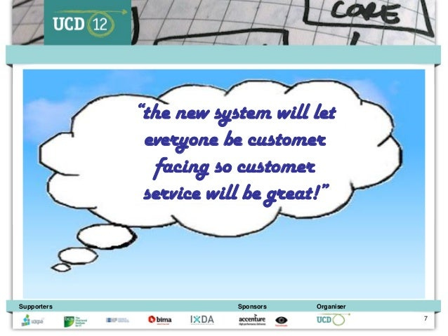 """• Other thoughts             """"the new system will let              everyone be customer               facing so customer  ..."""