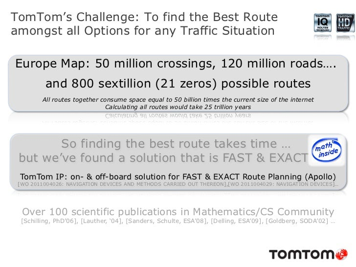 TomTom Dynamic Routing