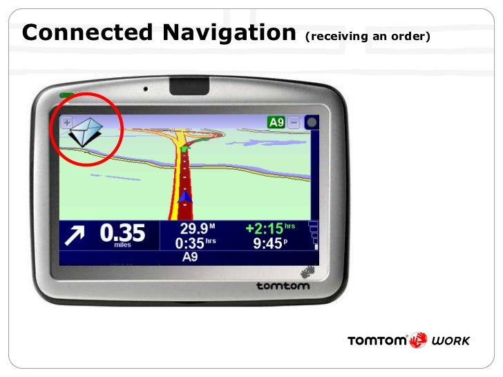 Connected Navigation  (receiving an order)