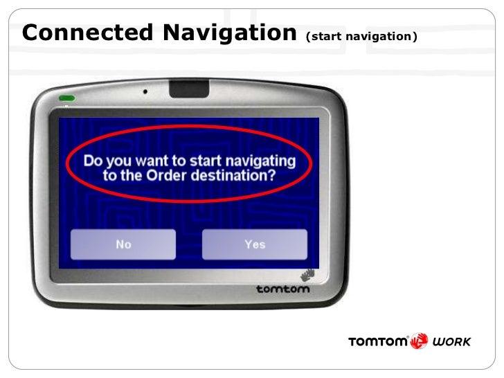 Connected Navigation  (start navigation)