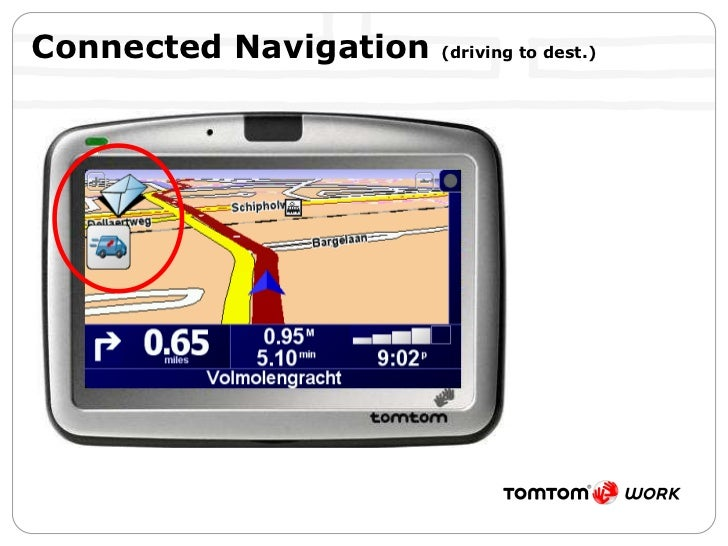 Connected Navigation  (driving to dest.)